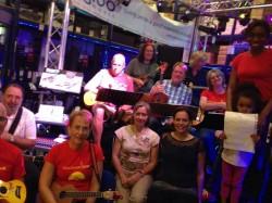Igloo ukulele band rehearsal 2