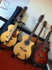Guitars at The Igloo Music UK Jam Night