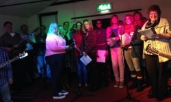 rehearsal - Christmas music 2013